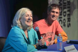 Ellen-with-Microphone